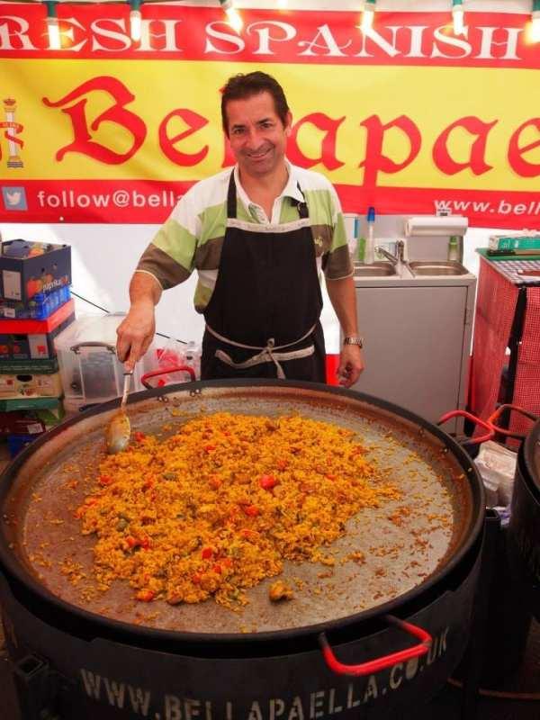 Glasgow Continental Market April 2015 - Bella Paella