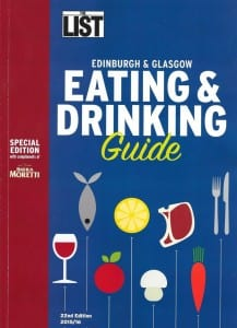 the list eating and drinking guide
