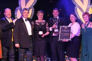 Scottish Hotel Awards - Auchrannie resort - winner of best hotel