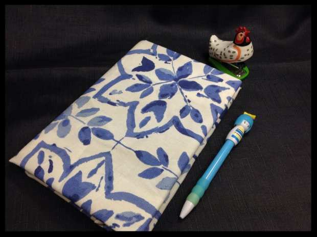 covered fabric notebook hillarys blinds crafternoon food drink glasgow blog glasgow foodie