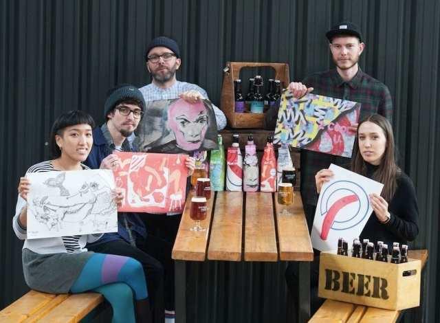 drygate glasgow school of art first birthday beer