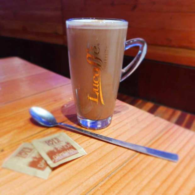 Jayz - hazelnut latte