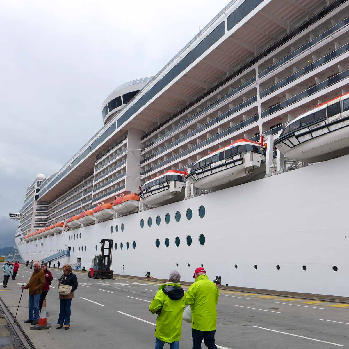 Feature MSC Splendida Tour And New Cuba Cruise For Winter - Cruise ships at greenock