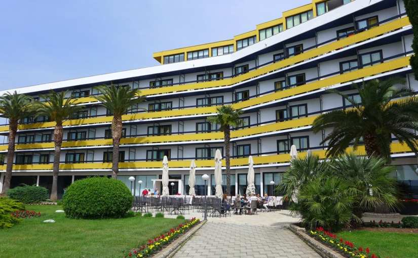 Accommodation: Hotel Ilirija, Ilirija Resort, Biograd na Moru, Croatia
