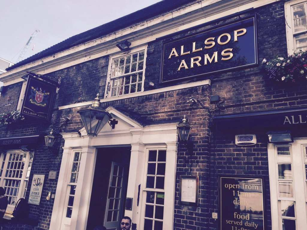 allsop arms london