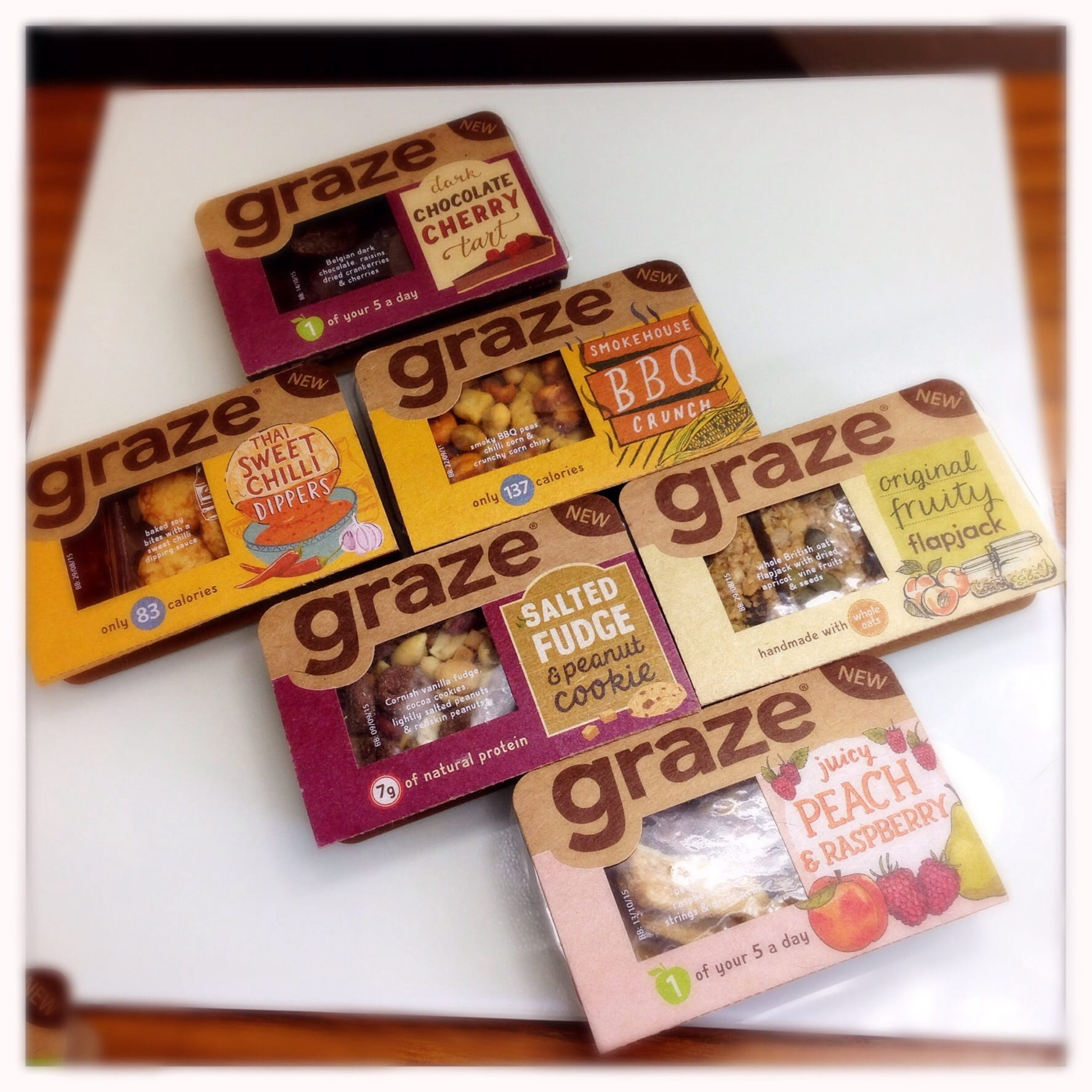 Graze good to go range snacks