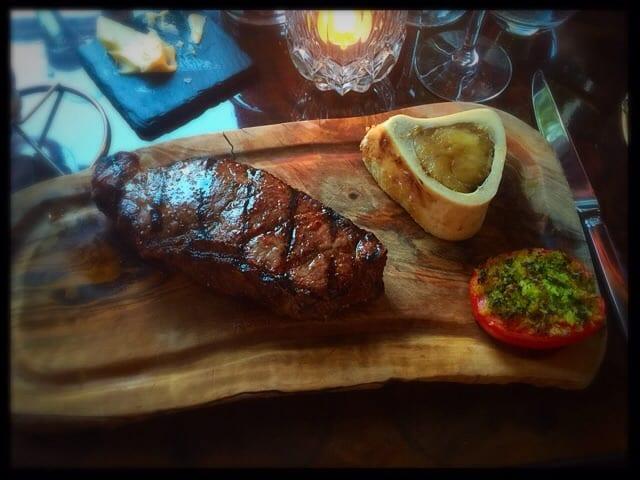 beef sirloin crockers folly london review food drink glasgow foodie explorers