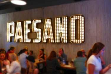 Paesano pizza - busy launch night