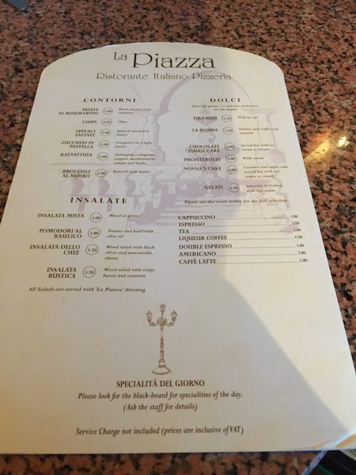 glasgow foodie explorers food travel blog La_Piazza_york_Menu_4