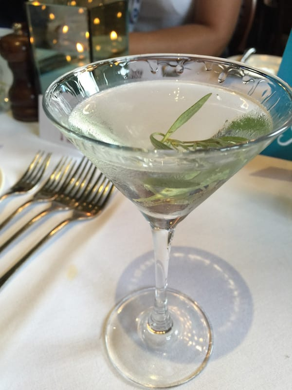 glasgow foodie explorers Seafood_Scotland_Mark_Greenaway_Edinburgh_Gin_Seaside_Gin_Martini