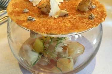 glasgow foodie explorers Seafood_Scotland_Mark_Greenaway_Smoked_Gigha_Halibut