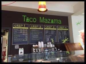 inside taco mazama glasgow central railway station tex mex mexican glasgow foodie exlorers