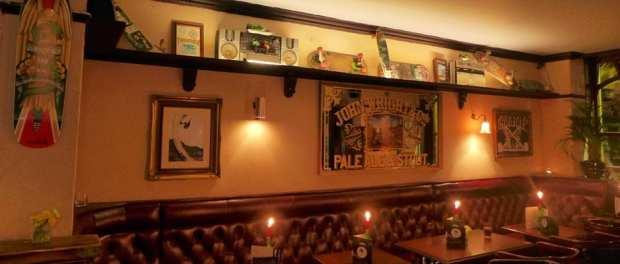 Palm Tree Portobello - inside the pub