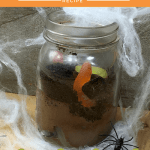 worms_in_soil_Image glasgow foodie explorers halloween recipe