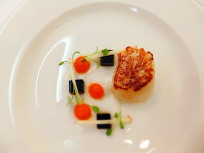 scallops macdonald hotels and resorts forrest hills hotel and spa