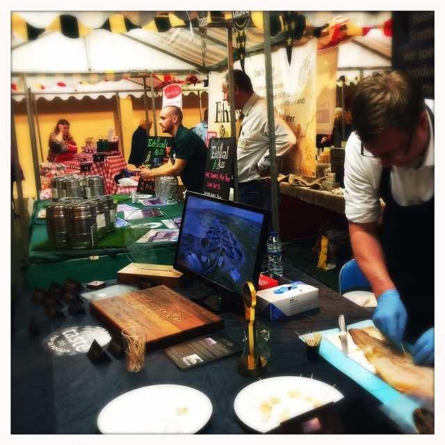 BBC Good Food Show Scotland - Gigha Halibut