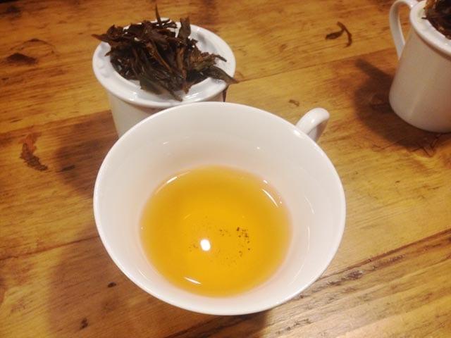 Kinnettles tea at Pekoe Tea