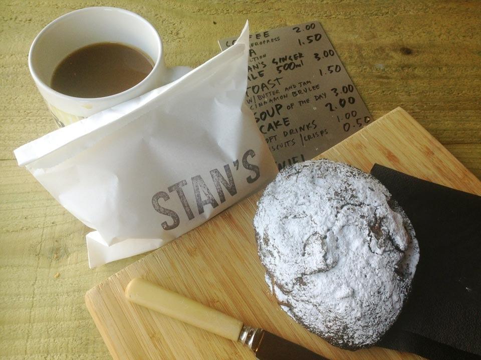 Stan's Studio - coffee and cake