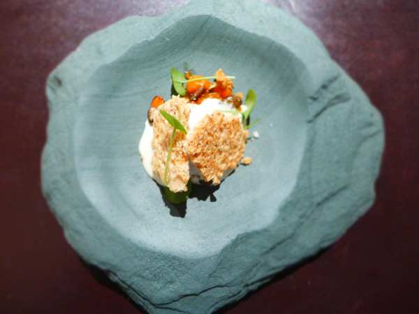 L'enclume - Caramelised pumpkin, brown butter, almond