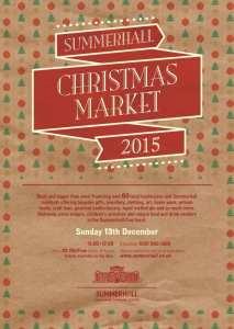 Christmas market Edinburgh Summerhall