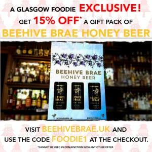 Beer Beehive Brae discount money off Christmas