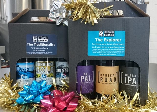 Stewart Brewing - gift packs