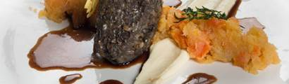 gleneagles alan gibb haggis starter burns night recipe