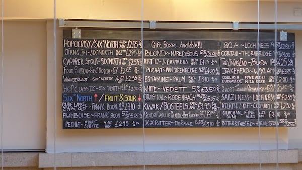 six_degrees_north_aberdeen_Beer_list_board
