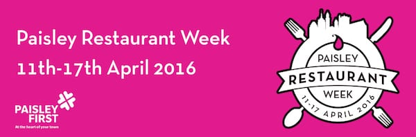 paisley restaurant week