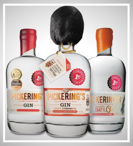 Pickerings gin Edinburgh Waldorf Astoria Glasgow foodie explorers