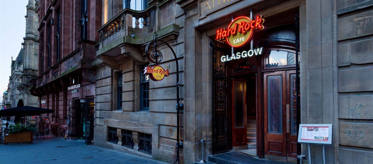 Hard Rock Cafe Glasgow Deals