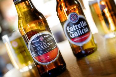 Estrella galicia beer music Glasgow foodie explorers