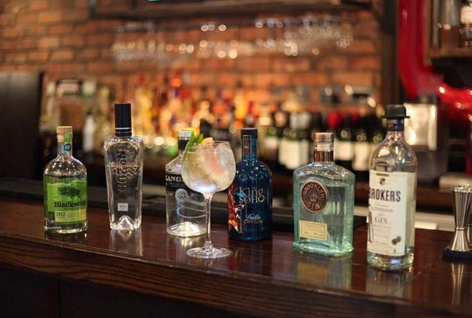 The honours Malmaison Glasgow foodie explorers gin