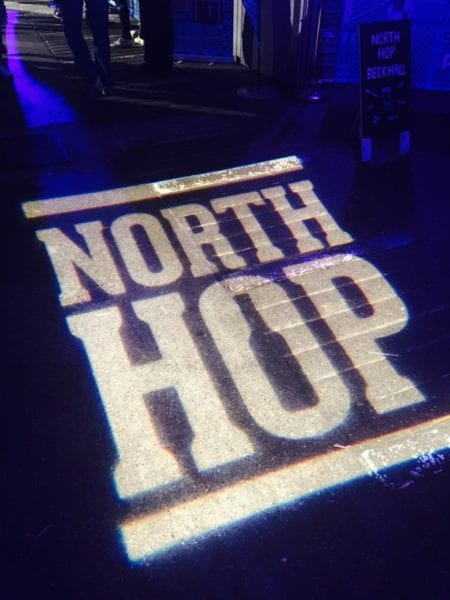North hop Glasgow