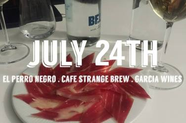 jamon el perro negro cafe strange brew southside glasgow