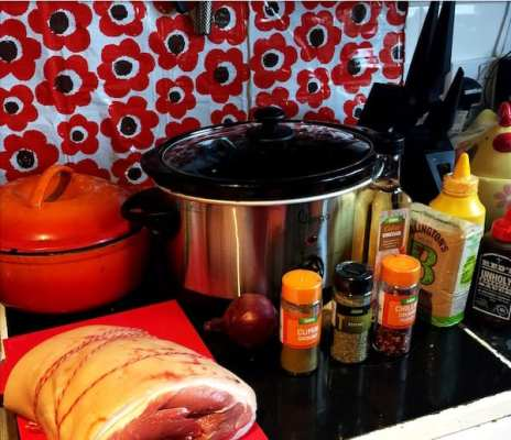 slow cooker pulled pork ingredients