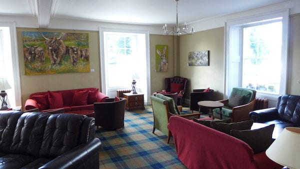 Atholl Arms Dunkeld lounge