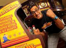 Tennent's Lager Arcade Fun in pubs now