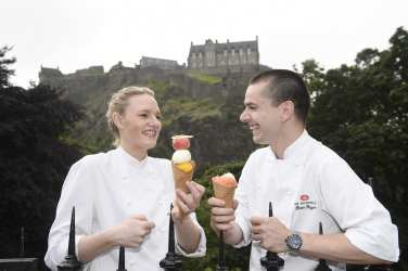 Foodie festival Edinburgh launch