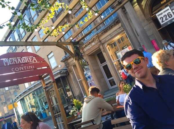 Contini menabrea beer Edinburgh festival pop up