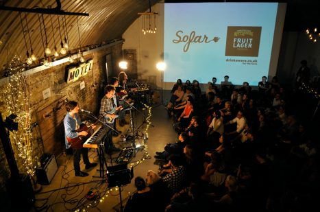 Kopparberg music Glasgow sofar sounds