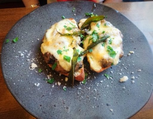 Mushroom Brindisi
