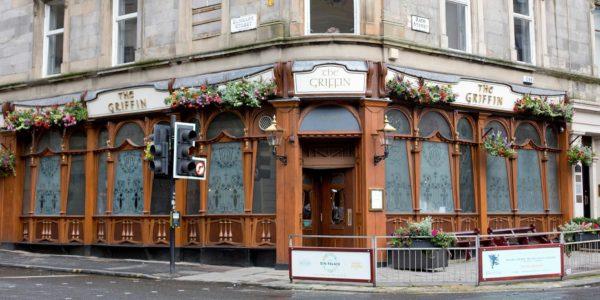 The Griffin bar pub Glasgow