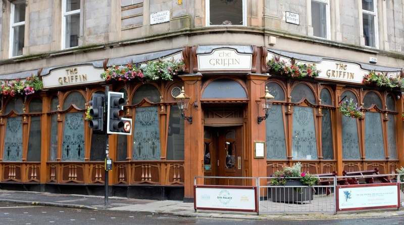 The Griffin bar pub Glasgow