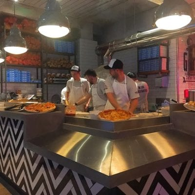 Pizza punks Glasgow new opening