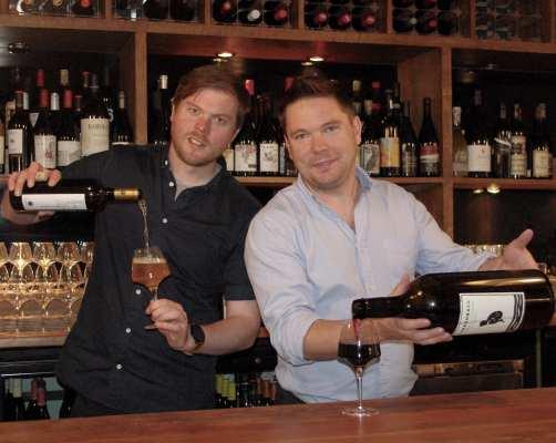 Good brothers wine bar Edinburgh