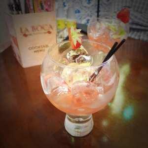 la boca glasgow gin