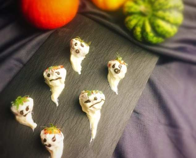 Recipe: Healthy Ghosts for Halloween