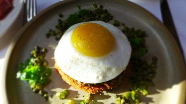 Jesmond Dene House hotel - breakfast haggis