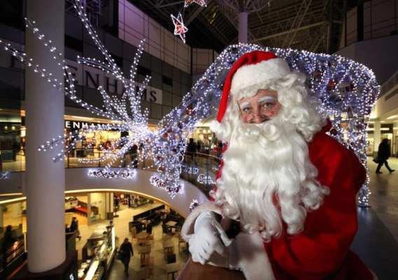 Santa st Enoch Centre